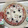 Pâte à pizza avec du chou-fleur {recette #sansgluten #cetogene #IGbas } - Rose & Cook