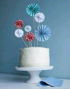 Aprende como hacer estas flores o rosetones de acordeón y úsalas para decorar cualquier área de tu fiesta. Son fáciles y económicas, con lo...