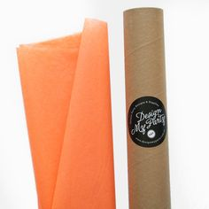 Apricot Tissue Paper 40 Sheets 500mmx760mm by DesignMyPartyShop
