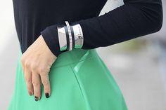 @Cangorinaldi Leather Skirt, Skirts, Jewelry, Fashion, Leather Skirts, Jewlery, Moda, Jewels, La Mode