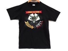 Vintage 90s The Clash Tee - Small - Punk Band Shirt - Band Tee - Straight To Hell - 70s Punk Rock - Band T Shirt Small - Joe Strummer - by BLACKMAGIKA on Etsy