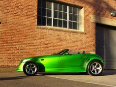custom plymouth prowler | My 1999 Candy Lime Green Prowler