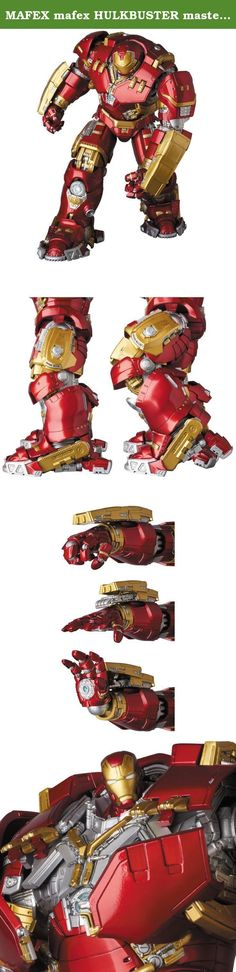 """MAFEX mafex HULKBUSTER masterpiece """"AVENGERS AGE OF ULTRON' non-scale ABS & ATBC-PVC painted action figure. Original production:PERFECT-STUDIO the best form and moving area of outstanding balance! MAFEX, it's the strongest action figure! -From the movie """"the AVENGERS AGE OF ULTRON"""" three-dimensional """"HULKBUSTER""""! -HULK vs suits suit shapes and designs reproduced! -New design of joint part can pose unique! Strongest action figure """"MAFEX' series to new HULKBUSTER (masterpiece) megaton-class..."""