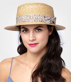 Straw Dixie Hat!!