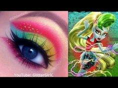 Monster High's Lagoonafire Makeup Tutorial. Youtube channel: full.sc/SK3bIA