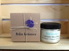 Organic Pure LAVENDER Shea Butter Skin & Hand Cream, All Natural, Unrefined, Lavender Essential Oil, Mother's Day Gift bridesmaid gift