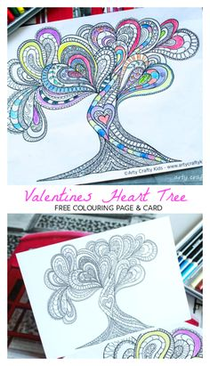 Valentine S Day Coloring Pages For Adults Teens My Tpt Teaching