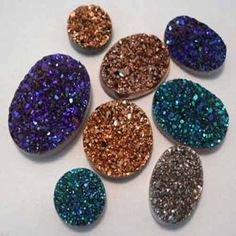 FAUX DRUZY PENDANT TUTORIAL – Mad in Crafts