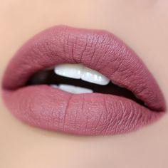 """""""Cami"""": ColourPop Matte Lipstick, Pinky Mauve Shade With Blue Violet Undertones💋 Colourpop Matte, Colourpop Cosmetics, Lip Makeup, Makeup Brushes, Beauty Makeup, Beauty Box, Makeup Tips, Hair Beauty, Lip Colors"""