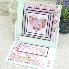 The Lilac Moments Complete Collection is the stunning addition to our Fabulous Finishes papercraft range. The stunning kit includes Lilac foiling – a first from Hunkydory, and it looks absolutely incredible! Best Frends, Hunkydory Crafts, Luxury Card, Floral Artwork, Paper Cards, Cardmaking, Lilac, Butterflies, Card Ideas