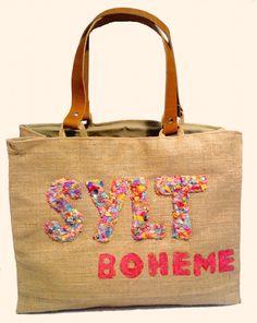 """Sylt Boheme Bunt"" Beach bags www.sylt-boheme.de"