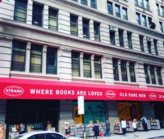 The bookstore tour of New York | cakes, tea and dreams