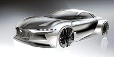 DS E-TENSE, PARAMETRIC EXPLORATIONS - Auto&Design