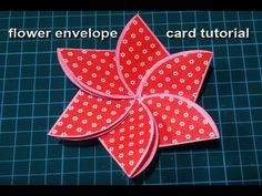 Scrapbook special 5 DIY card's Tutorial . Easy way to Make Using colorfull craft Papers& printed Papers. For Any queries or questions comment… Origami Cards, Paper Crafts Origami, Easy Paper Crafts, Diy Greeting Cards For Birthday, Hand Made Greeting Cards, Diy Cards Tutorial, Card Tutorials, Fancy Envelopes, Card Envelopes