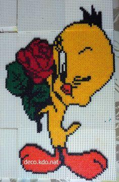 Tweety hama beads by deco.kdo.nat