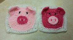 heart granny square crochet - YouTube