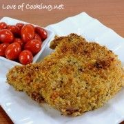 For the Love of Cooking » Italian Panko and Parmesan Crusted Pork Chops