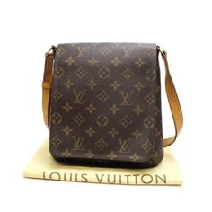 Louis Vuitton Musette Salsa Short Monogram Shoulder bags Brown Canvas M51258