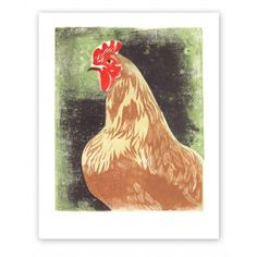 Betty the Hen by Rigel Stuhmiller