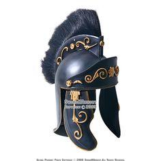 Roman Gladiator Helmet | Praetorian Guard Roman Helmet Gladiator With Plume