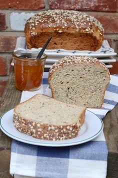 Multigrain Oatmeal Bread @Shulie Madnick