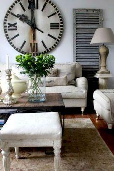 French country living room design and decor ideas (47)