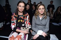 Olivia Palermo Photos Photos - Nieves Alvarez and Olivia Palermo attend the Elie Saab show as part of the Paris Fashion Week Womenswear Fall/Winter 2017/2018 on March 4, 2017 in Paris, France. - Elie Saab: Front Row  - Paris Fashion Week Womenswear Fall/Winter 2017/2018