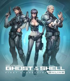 Permalink to Ghost in the Shell Online Gets New Name, New Trailer and Closed BETA