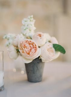 #posies, #rose  Photography: Jose Villa Photography - josevillaphoto.com  Read More: http://www.stylemepretty.com/2014/03/12/al-fresco-wedding-in-santa-ynez/