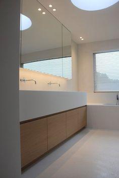 Strakke badkamer inrichting