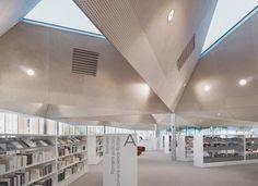 Médiathèque de la Madeleine ©IDM design library