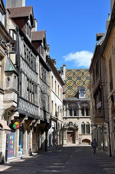 Dijon, Bourgogne, France. Really hoping to study abroad here.