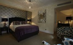 Impressions Rooms, cool shades, contemporary design with a cosy feel