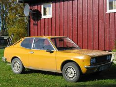 First car: Fiat 128 sport coupe
