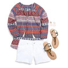19 Cooper Misla Tie neck blouse - Love this blouse!