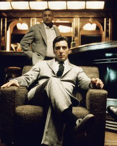 "Although the cinematic excellence of ""The Godfather"" wasn't lost on us style writers, we always finish the film with a lingering desire to talk fashion. Seriously -- Michael Corleone is the man."