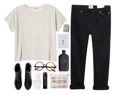 """""""eccedentesiast"""" by ruthaudreyk ❤ liked on Polyvore featuring Monki, Acne Studios, H&M, Christian Dior, Bobbi Brown Cosmetics, Wildfox and Calvin Klein"""