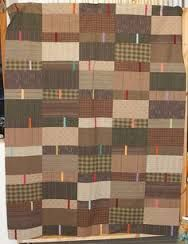 Image result for log cabin monochromatic quilts