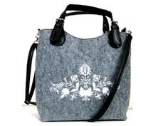 Kabelka Excent Folk biely 41x34x10 cm Gym Bag, My Style, Bags, Shoes, Clothes, Fashion, Handbags, Outfits, Moda