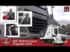DAF TRUCKS France projection 2016 - truck Editions