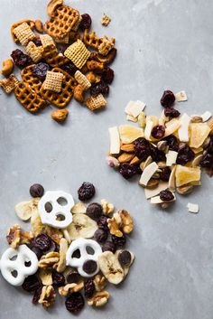 Really good recipe for making your own easy snack mix that goes beyond the ordinary. Great for road trips or camping or just snacks for the kids all year long. | Jelly Toast blog