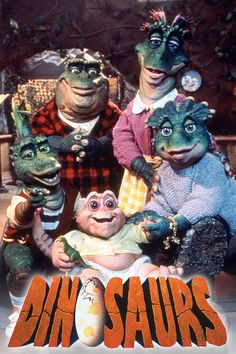 tv shows Dinosaurios - Dinosaurs (Serie TV) 1991 Cartoon Cartoon, Cartoon Tv Shows, 90s Cartoon Movies, Kids Tv, 90s Kids, My Childhood Memories, 90s Childhood, Childhood Tv Shows, Dinosaurs Tv