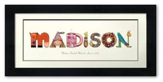 Personalized children's art por melsapp en Etsy, $120.00