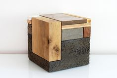 The work in wood, metal, concrete, ceramics done by Phillip Finder is in continuous evolution...