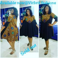 The complete pictures of latest ankara short gown styles of 2018 you've been searching for. These short ankara gown styles of 2018 are beautiful African Print Dress Designs, African Print Dresses, African Fashion Dresses, African Attire, African Wear, African Women, African Dress, Ankara Short Gown Styles, Short Gowns