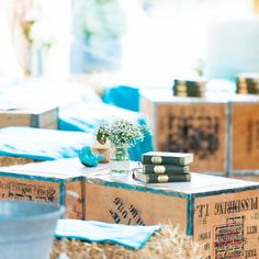 Chill out area vintage Wedding