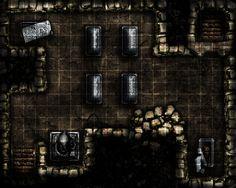 Crypt Level 3 by RealMarkP on DeviantArt