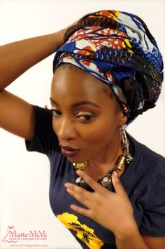 Head wraps for women, African head wraps, Ankara head wraps, African fabric head…