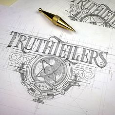 "1,762 Likes, 12 Comments - Calligraphy Masters (@calligraphymasters) on Instagram: ""Truthtellers hand lettering by the hand of @tomasz_biernat #CalligraphyMasters #KeepWriting…"""