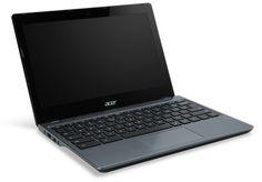 Chromebook Acer C720 podría ofrecer opción de pantalla táctil